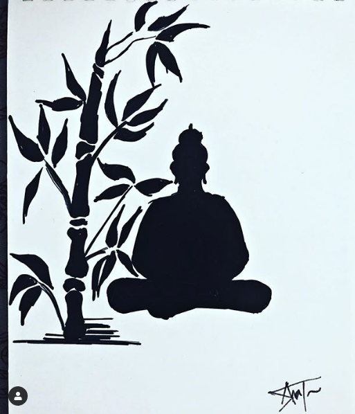 Budha and Tree